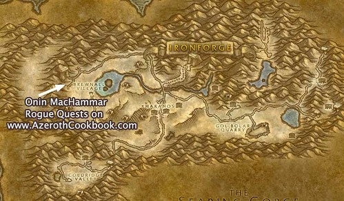 Map to Onin MacHammar