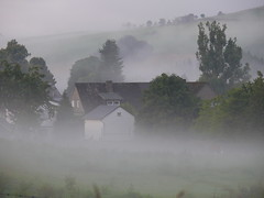The village where I stay.... (rolfspicture) Tags: summer fog germany nebel sauerland schmallenberg inspiredbylove sognidreams