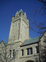 University Hall Tower at OWU