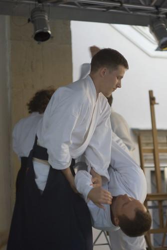 Aikido fight