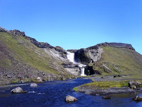 Wasserfall von Eldgja