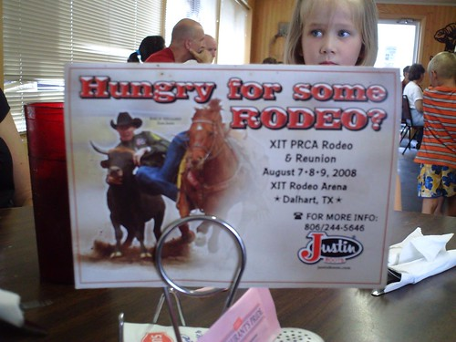 Hungry for some rodeo?