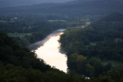 Fog over the White River