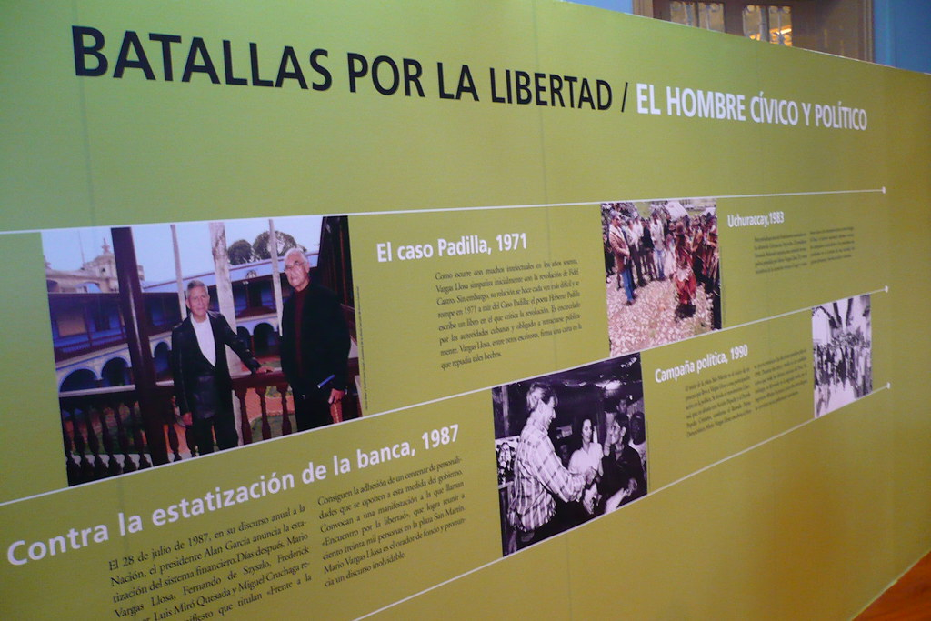 Mario Vargas Llosa y la política