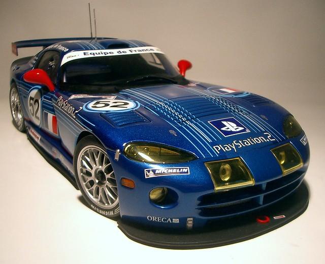 2002 dodge viper 52 gtsr autoart oreca