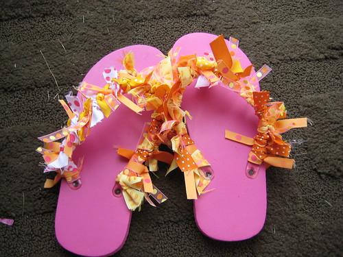 Buttercup's Flip-Flops
