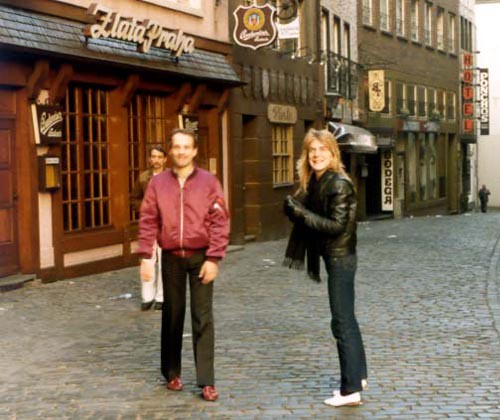 Randy & Jake sightseeing in Germany