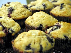 lemon blueberry muffin