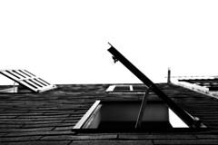 Windows (Brooklyn Hilary) Tags: california ca windows sky white black building up downtown open sandiego shingles