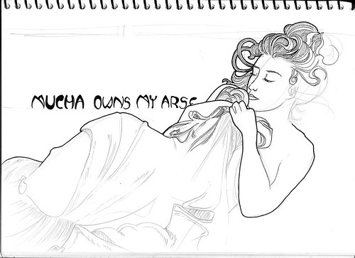 Sketchbook: Mucha Dusk