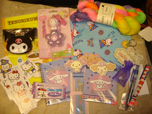 Hello Kitty Kit from Woolgirl
