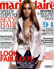 beyonce marie claire magazine cover