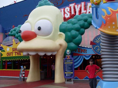 Jon and Krusty the Clown by Kablamo.