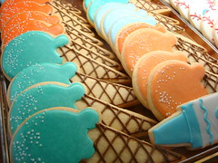 Ice Cream Cone Cookies, Bittersweet