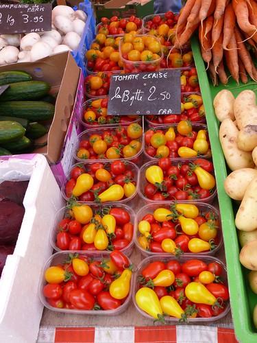 Kleurige tomaatjes