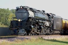 Union Pacific Railroad, Challenger No. 3985, Minnesota, South St. Paul (3,504e) (EC Leatherberry) Tags: railroad minnesota challenger steam locomotive dakotacounty unionpacificrailroad 4664wheelarrangement 1943 americanlocomotivecompany