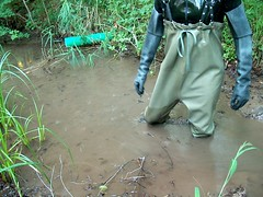 EX000021 (hymerwaders) Tags: mud boots rubber muddy waders schlamm patent stiefel chestwaders watstiefel