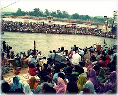 An evening with river Ganga (*Gaurav Atri*) Tags: noida india self river religious evening photo religion culture tourists holy devotees riverbank mybest hindu hinduism photoart crowds banks ganga ganges rituals haridwar uttarpradesh indianculture uttarakhand bathingghats sonydscs600 holyriver photoartist holydip holybath harkipaidi gaurhavhatri gaurhav gauravatri eveningaarti jmagaurhav myfavoritephotoart