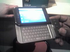 T-Mobile G1 - Lilliputian form factor