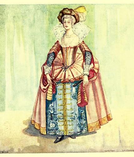 17- Vestimenta mujer epoca Jaime I (1603-1625)
