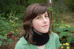 Easy Neckwarmer Headband as a neckwarmer