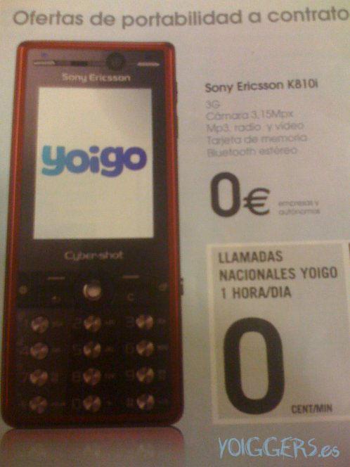 Yoigo Empresas k810i