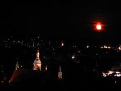 2007 07 01 - 0585 - Graz - View from Schlossberg (thisisbossi) Tags: moon night austria österreich graz moonillusion