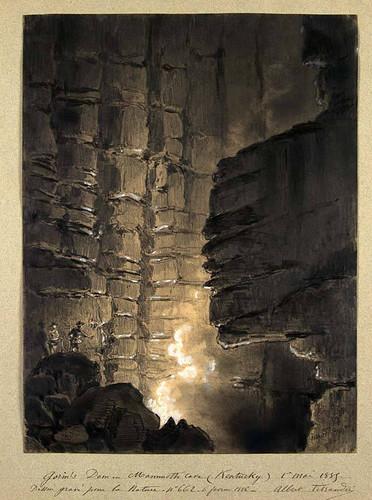 03- Gorin's Dome- Gruta del Mamut en Kentucky 1885