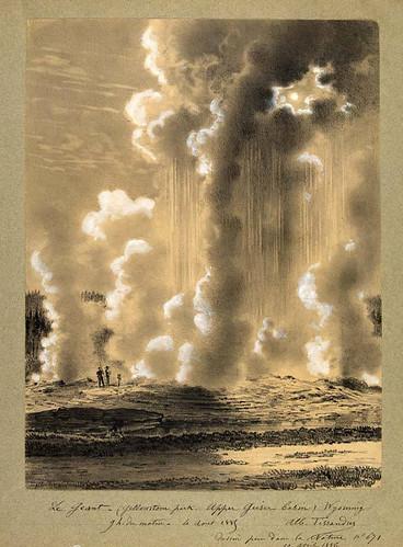 017- El Gigante - Geyser en el parque Yellowstone- Wyoming