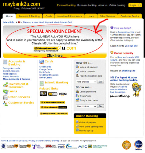 New Maybank2u Website M2U 2 0 - Failed Big Time - i'm saimatkong
