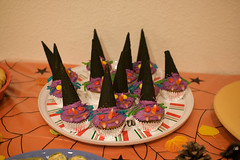 Witch cupcakes