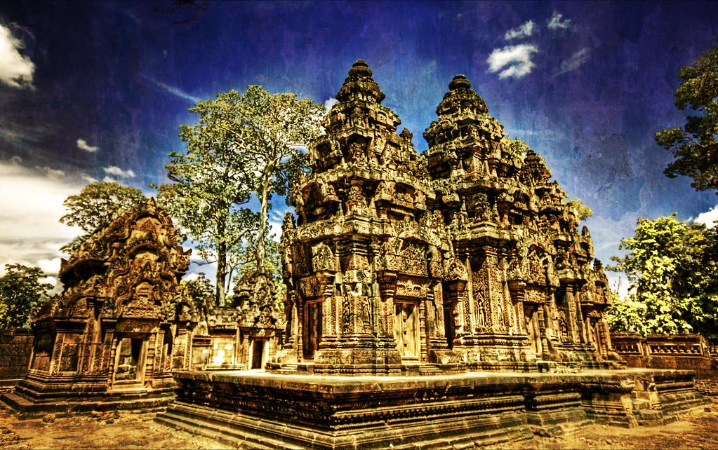 Weathered in the Cambodian Jungle