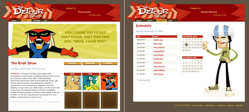 The Detour on Teletoon