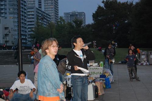 [光が丘インラインフェスティバル2008]司会進行