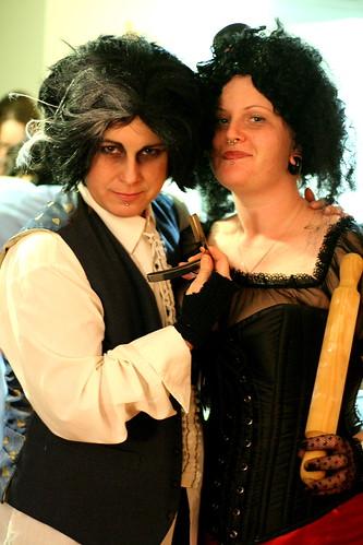 Sweeney Todd & Mrs Lovett