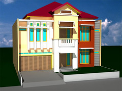 Desain Rumah Duren-Sawit-2 by Indograha Arsitama by Indograha Arsitama Desain & Build