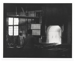 J. Scott Williams (Smithsonian Institution) Tags: blackandwhite brick window person factory kiln smithsonianinstitution brickfactory archivesofamericanart