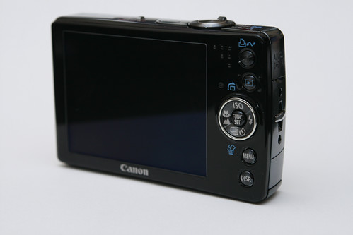 Canon SD750 - Rear