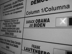 My presidential vote for Barack Obama 2.