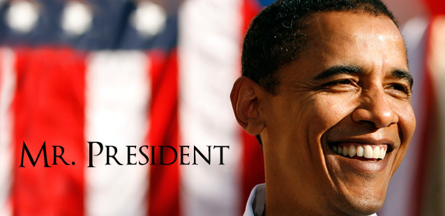 Il 44esimo presidente degli Stati Uniti: Barak Obama
