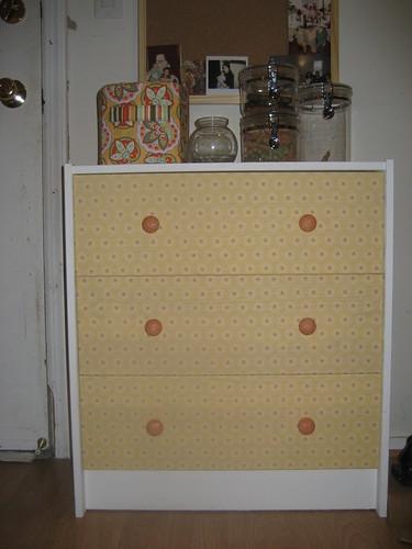 ikea rast chest of drawers joel dewberry fabric