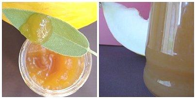 Confettura di melone alla salvia
