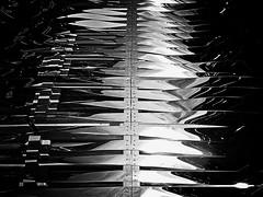 Destellos en B&N...  Sparkles in B&W.... (ToniMolero07) Tags: light bw espaa building luz andaluca spain steel edificio bn sparkle reflected andalusia mlaga reflejos destello acero pta brilante tonimolero celocas