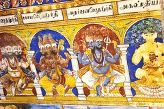 Konerirajapuram Frescoes (5) (Indianature s) Tags: heritage bronze murals nataraja inscriptions tamilnadu chola nagapattinam shivatemple frescoes kumbakonam cauvery ponniyinselvan sivatemple natarajar anandatandava cholabronze indianature cholatemple mayiladuthurai cholafresco cauverydelta konerirajapuram konerirajapuramfrescoes cholafrescoes nayakarfresco thirunallam umamaheswarar sembiyanmahadevi httpwwwtravelpodcommembersindianature gnanaskandan umamaheshwari snonymous cholainscriptions worldslargestbronzenataraja nearkumbakonam tirunallam chembiyanmahadevi bronzenataraja worldsbiggestnataraja bignataraja