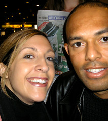 Lisa and Mariano-Yankees!