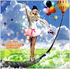Britney Spears [Circus Magic Show] ( Omar Rodriguez V.) Tags: show from road blue sky color sexy art glass colors beautiful glitter clouds out stars fan photo fantastic artwork shot princess spears circus album magic under pop queen sparkle popart fairy fantasy freak blackout shattered omar 2008 britney 2009 radar outtake rodriguez inthezone womanizer slave4 slave4britney