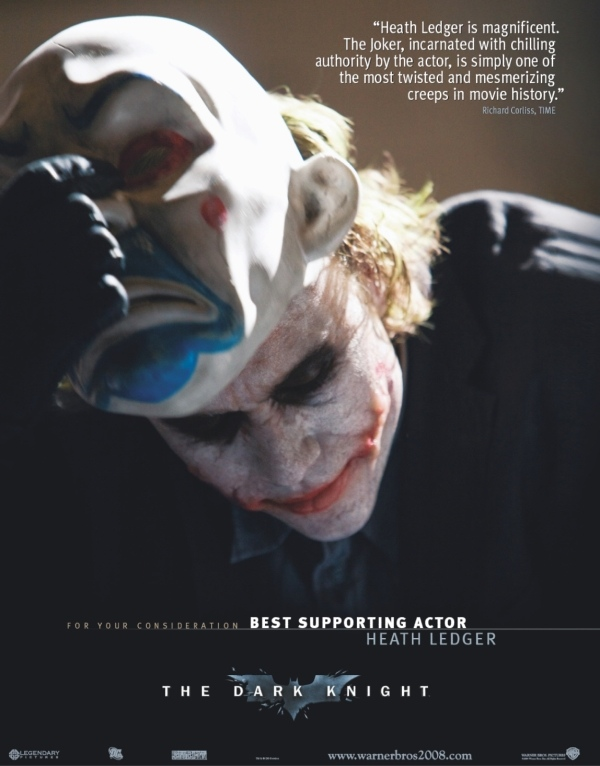 for your consideration heath ledger oscar