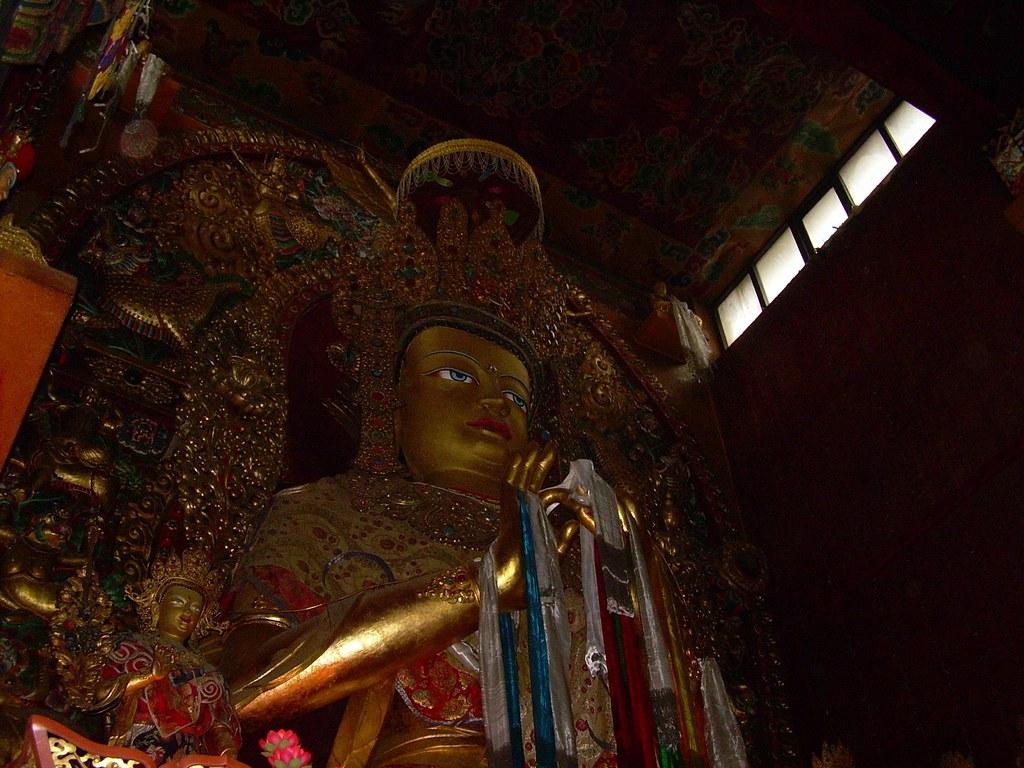 La próxima reencarnación de Buda
