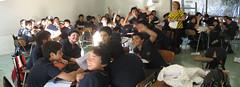 Profesora y sus curso (peaplica) Tags: jornada proyecto educativo