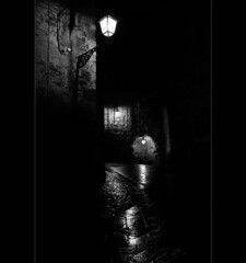 rainy friday 2 (Mauro D'Ambrosio (prometeo53)) Tags: street bw italy rain night dark italia bn friday lazio blackdiamond anagni ciociaria blackwhitephotos abigfave hccity
